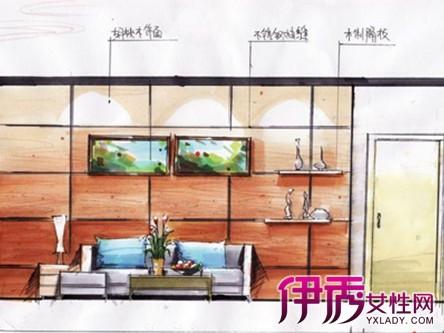 【立面图手绘】【图】卧室立面图手绘图片