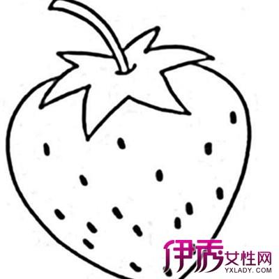 【图】萌萌哒幼儿手绘食物简笔画 可爱画风瞬间萌翻你