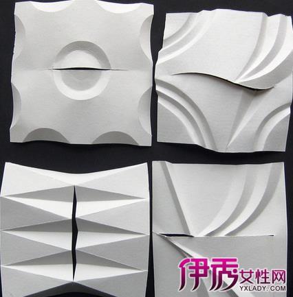 【图】半立体构成折纸步骤 教你半立体构成基本制作图片