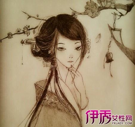 【图】铅笔手绘古风人物图片大全