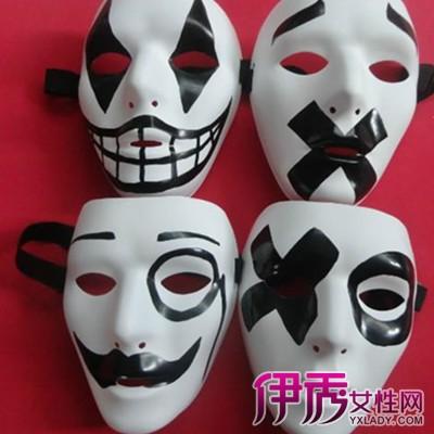 【万圣节手绘面具】【图】欣赏万圣节手绘面具图片