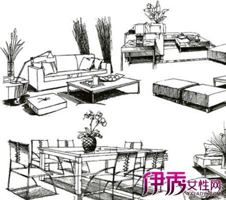 【图】看沙发手绘线稿 三大方面让你对它更了解
