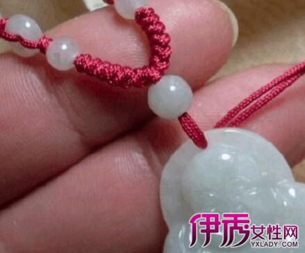 款式项链绳编织方法图解:一