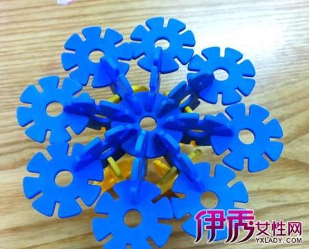 雪花片拼图大全 经典雪花片益智拼装玩具