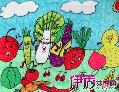 【水果蔬菜创意图片】【图】绘画水果蔬菜创意图片