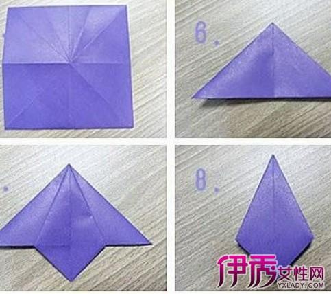 【手工折纸花瓶】【图】手工折纸花瓶
