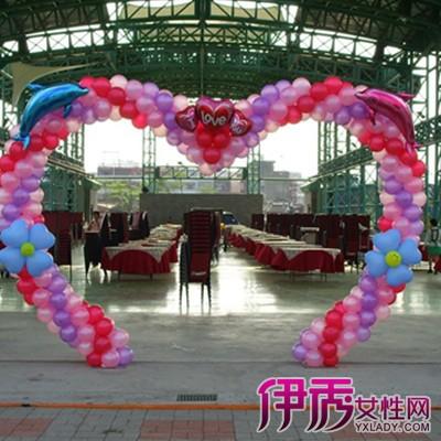 【图】展示结婚气球拱门扎法的图片 盘点气球在婚礼上的多种扎法图片