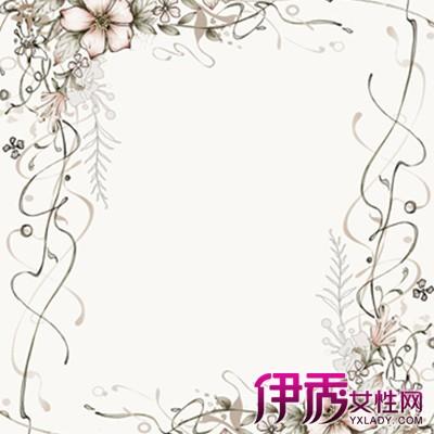 欣赏手绘简单边框花纹图片 几个手绘的技巧方法推荐