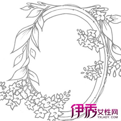 【手绘简单边框花纹】【图】欣赏手绘简单边框花纹