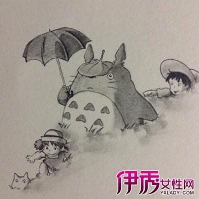 宫崎骏龙猫手绘图片大全 教你如何突出手绘的表现手法