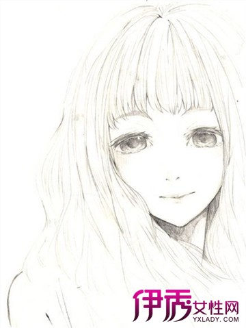 【图】手绘q版可爱萌少女图片大全 手绘六大步骤分享