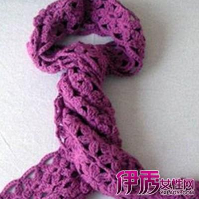 【图】钩针围巾图解图片欣赏 四种简单方法教你织出不同花样