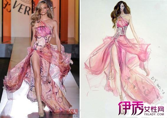 【图】大师手绘服装效果图欣赏 手绘服装如何制造