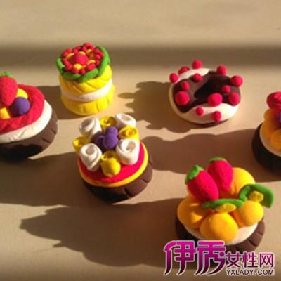 超轻粘土蛋糕图片大全 超轻粘土的作用和影响