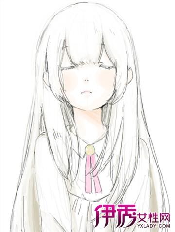 【手绘卡通萌女生头像】【图】手绘卡通萌女生头像