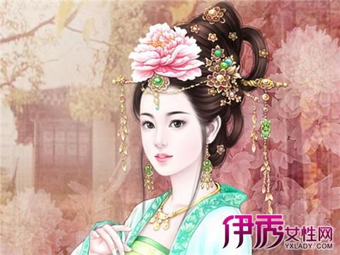 【手绘古装宫廷公主】【图】手绘古装宫廷公主图片