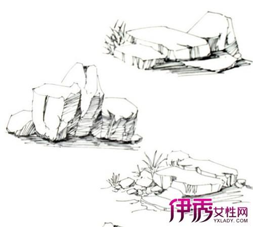 【图】怎么起石头手绘线稿? 打好基础是关键