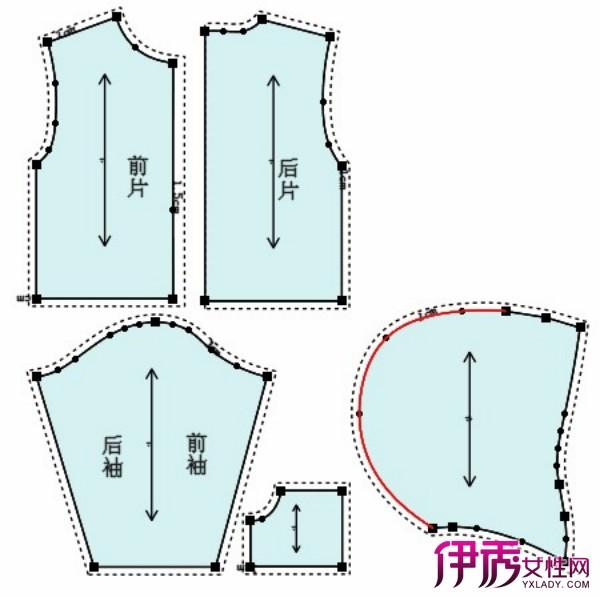 【图】大童斜肩卫衣裁剪图 动手给自己的小孩制作衣服吧!