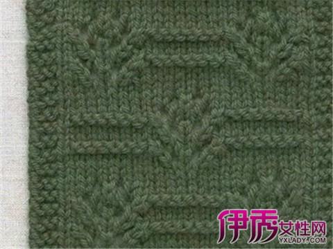 【图】棒针编织花样图解大全