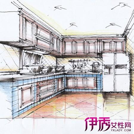 【厨房手绘图】【图】厨房手绘图展示