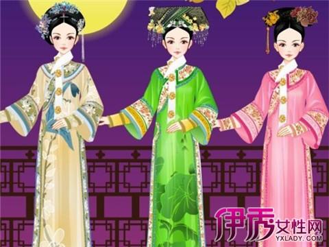 【手绘古装宫廷妃子】【图】手绘古装宫廷妃子图片 (480x360)