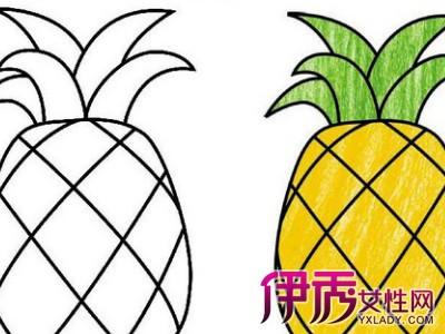 水果卡通简笔画教程 3大绘画方法介绍
