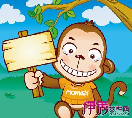 【彩色猴子卡通简笔画】【图】彩色猴子卡通简笔画
