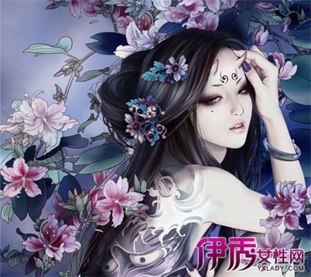【冷艳中国风手绘美女】【图】欣赏冷艳中国风手绘