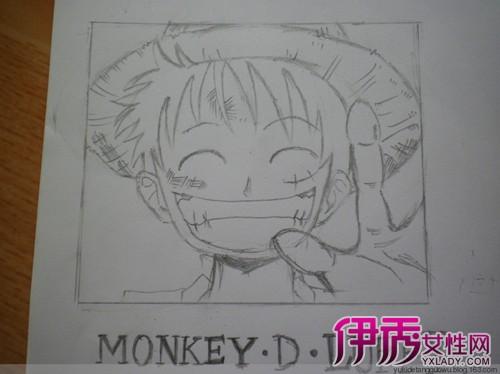 【海贼王手绘铅笔画】【图】海贼王手绘铅笔画