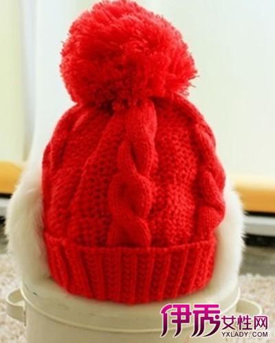 【图】毛线帽子编织法教程图解