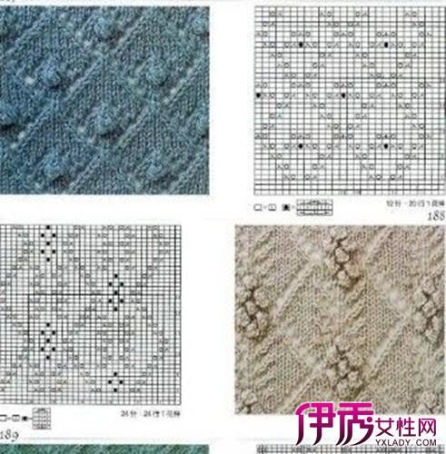 简单毛衣花样图解 编织毛衣的几大基本方法