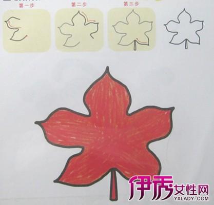 【图】怎样制作手绘枫叶简笔画 教你制作简单的手绘枫叶笔画