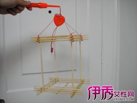 幼儿园 筷子灯笼