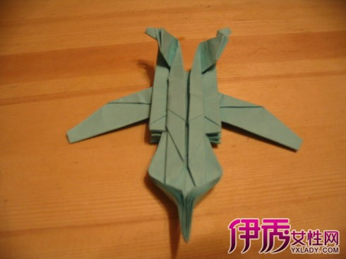【图】折纸战斗机的折法