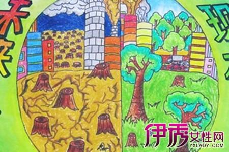 小学生以v环境环境为主题的绘画作品看什么漫画能软件图片