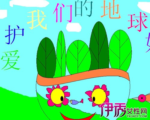 小学生环保画作品展示 盘点画的众多种类