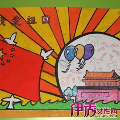 【图】爱国六年级绘画作品 感受爱国图片