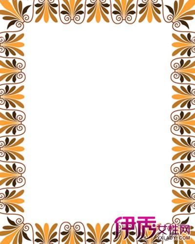 【简单方边框花纹素材】【图】手绘简单方边框花纹