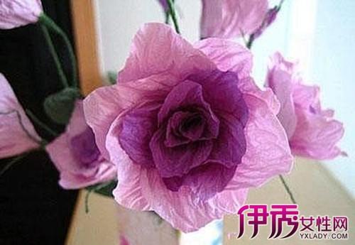 【图】褶皱纸手工花制作图解 两个方法教你做出美丽手工花