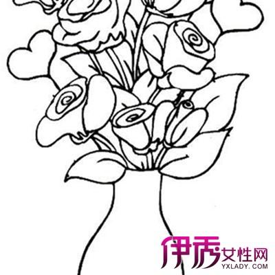 【图】植物花卉简笔画图片欣赏 简单线条勾勒出美丽图案