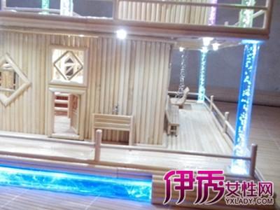 【图】如何用筷子做小木屋