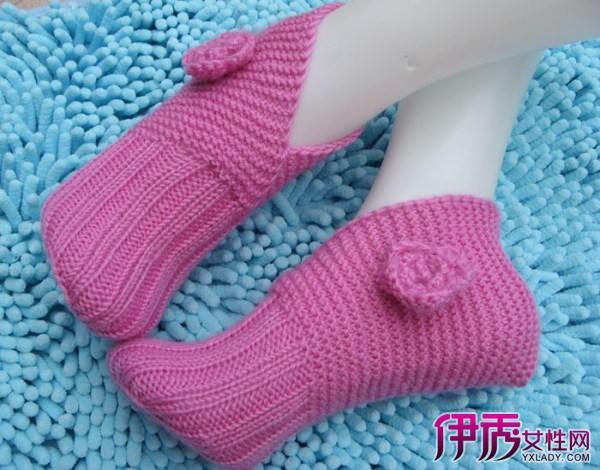 毛线袜子织法图解_漂亮毛线袜子的详细编织过程图解转载