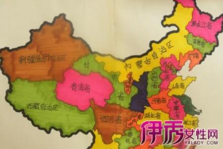 【图】手绘中国地图图片展示 了解绘画的工作环境要求