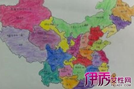 【手绘中国地图】【图】手绘中国地图图片展示
