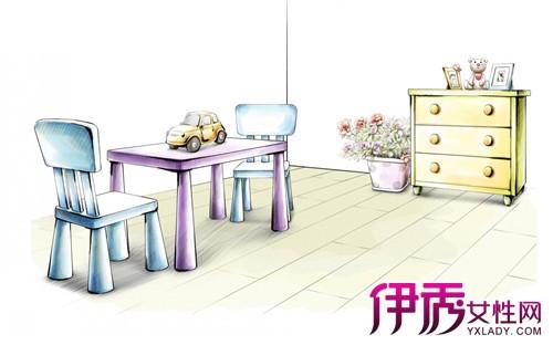 单个家具手绘图展示 介绍其艺术价值