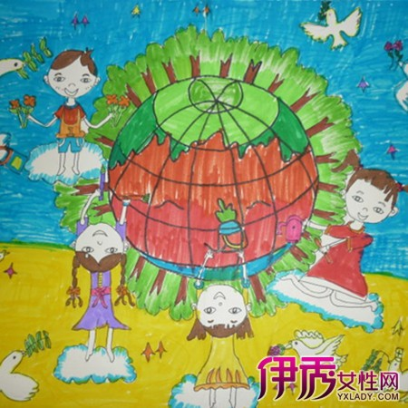 三年级儿童科幻画_第6页_画画大全