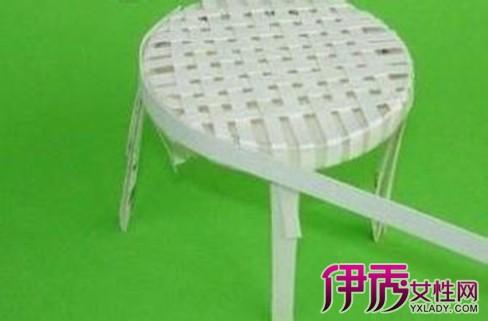 一次性纸杯做凳子:用纸杯制作田园小装饰 用纸杯做的田园小椅子 纸杯