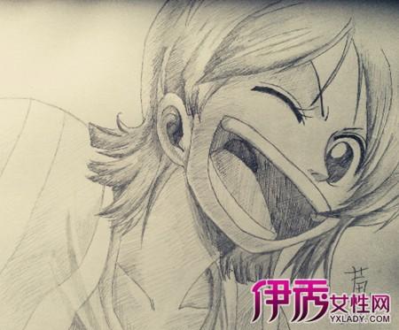 【图】海贼王手绘铅笔画