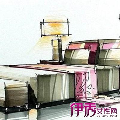 【单体床手绘效果图】【图】欣赏单体床手绘效果图