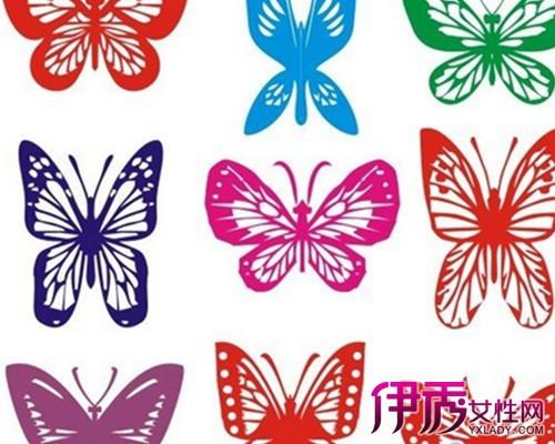 【图】蝴蝶手工剪纸图案欣赏 介绍剪纸的方法技巧及用途形式